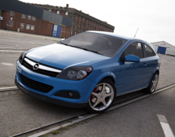 Opel Astra 2005 3D model