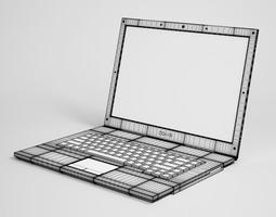 3D Laptop Computer 11