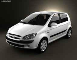 Hyundai Getz 2008 3D