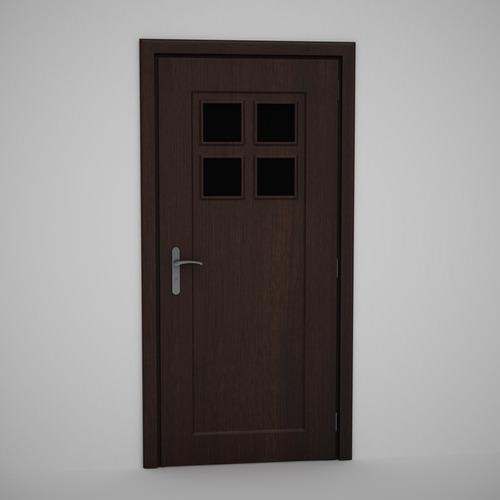 CGAxis Door 723D model