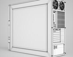 CGAxis PC Case 3D model