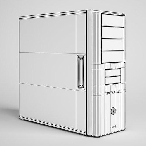 desktop computer 22 3d model max obj mtl fbx c4d 1