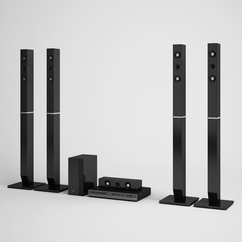 Home Theater Speakers 07 | 3D model