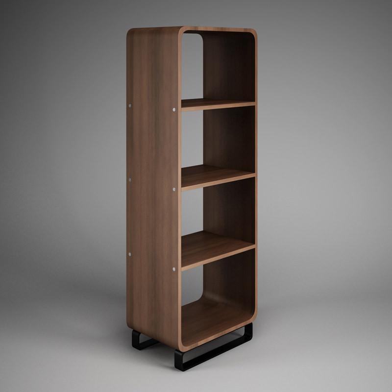 High Quality Office Shelf Unit 32 3d Model Max Obj Fbx C4d 1 ...
