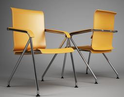 Office Chair 61 3D Model