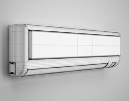 Wall Air Conditioner 10 3D model