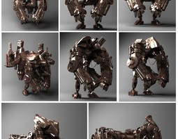 Robot Collection 3D model