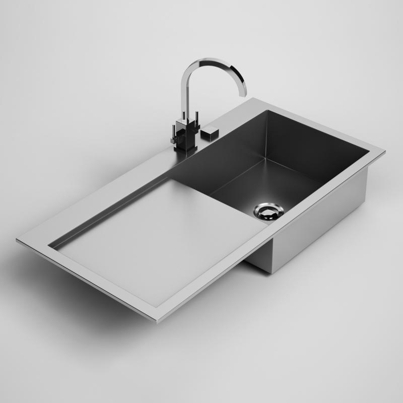 kitchen sink 24 3d model max obj fbx c4d 1 - Kitchen Sink Models