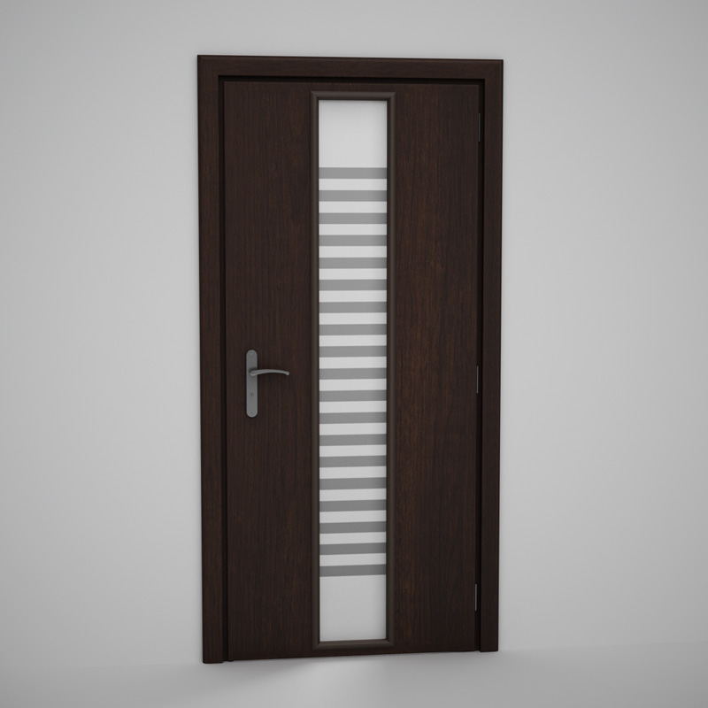 Cgaxis door 23 3d model max obj fbx c4d for Door models for house