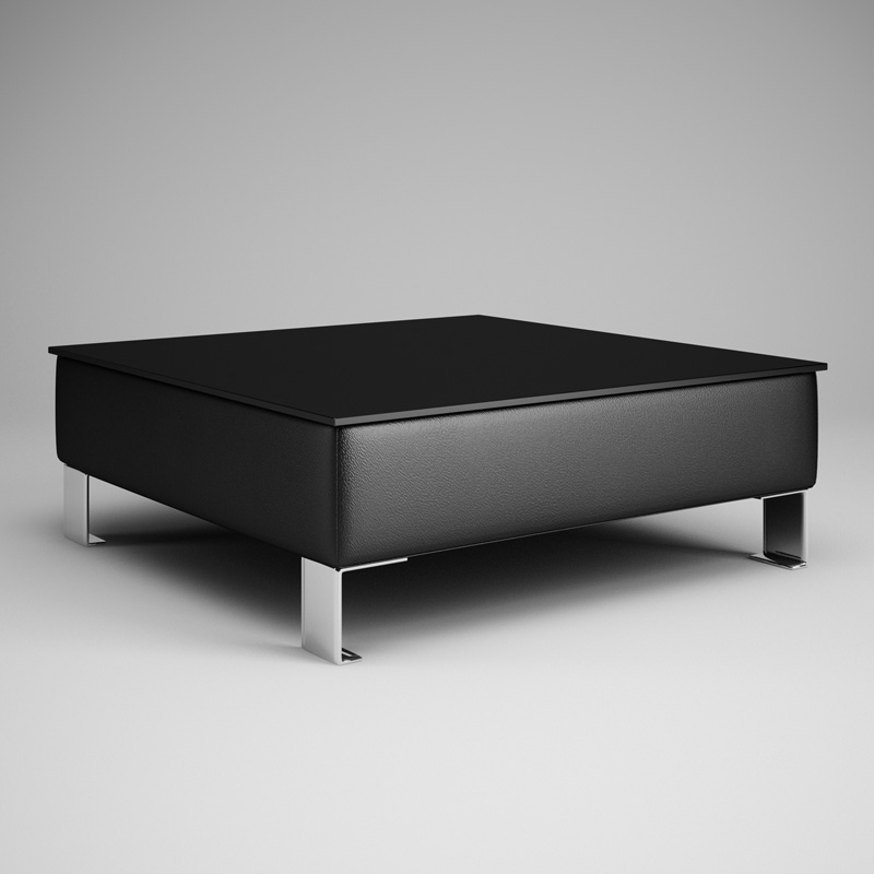 Superieur Black Living Room Table 28 3d Model Max Obj Fbx C4d 1 ...