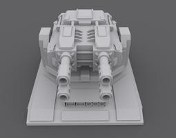LaserTurret 3D model
