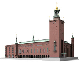 Stockholm City Hall 3D