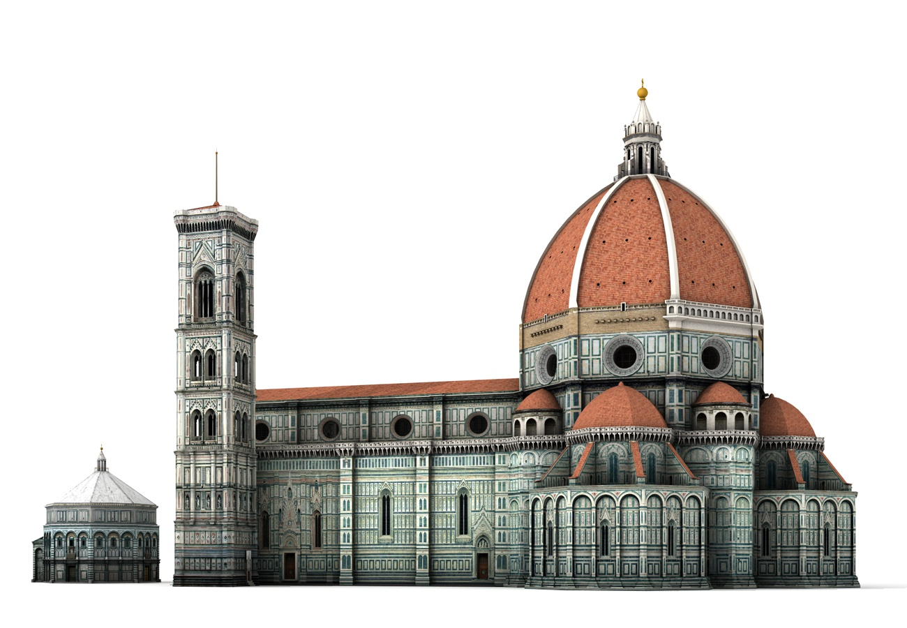 Florence Cathedral 3D Models