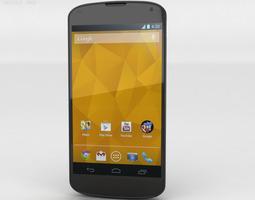 Google Nexus 4 3D Model
