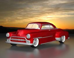 3D model 1951 Custom Chevy Deluxe