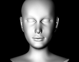 Liv Female 3D Model