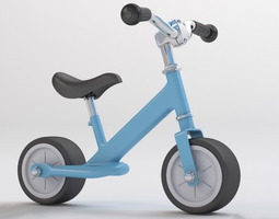 Kids Scooter  3D Model