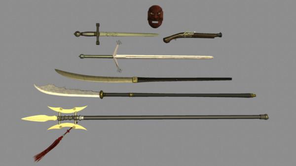 Medieval Weapon Set A