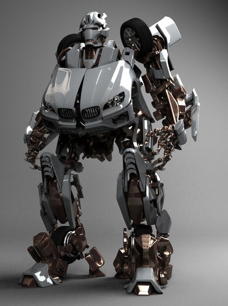Robot Collection 3D Model MAX | CGTrader.com