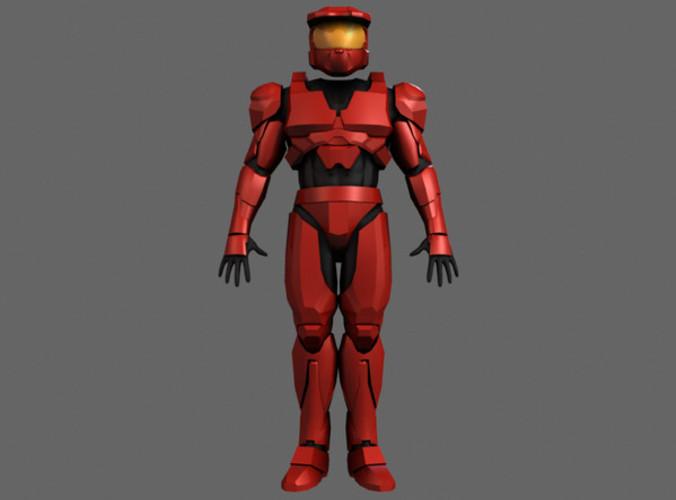 Halo Armor3D model