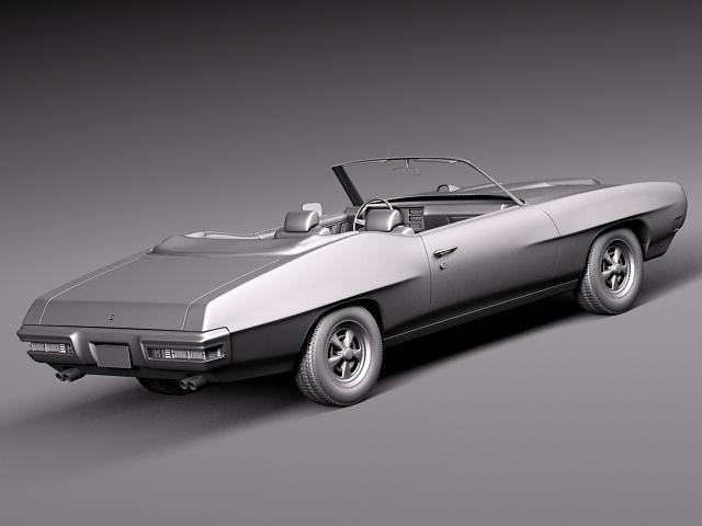 1969 pontiac gto convertible 3d model max 3ds fbx c4d lwo lw lws mtl 13