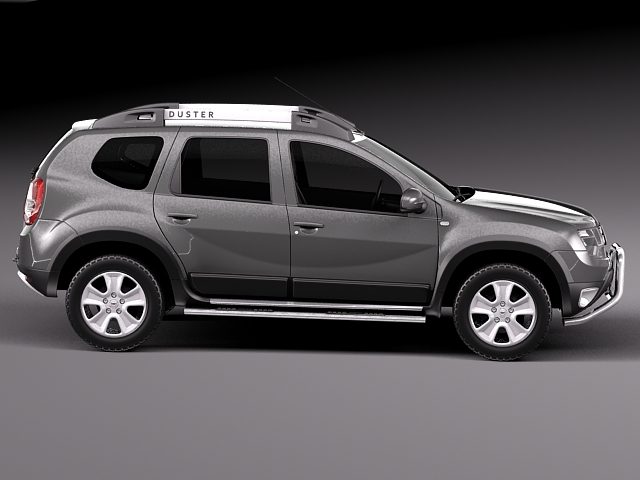 dacia duster 2014 offroad 3d model max obj 3ds fbx c4d lwo lw lws. Black Bedroom Furniture Sets. Home Design Ideas