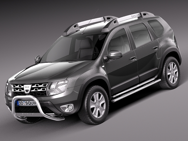 dacia duster 2014 offroad 3d model max obj 3ds fbx. Black Bedroom Furniture Sets. Home Design Ideas