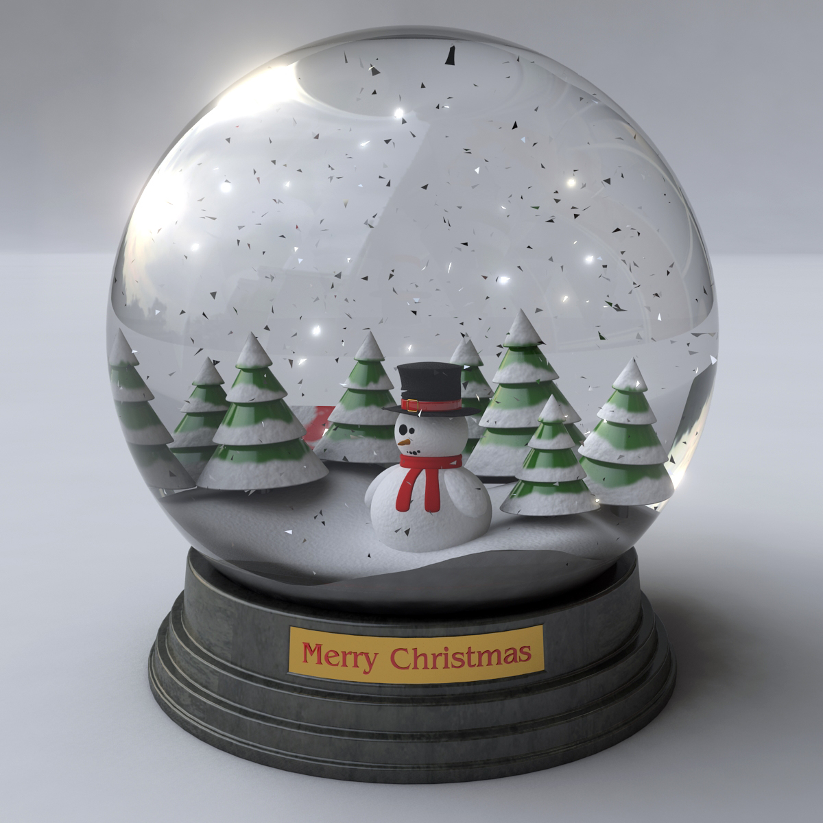 single word requests - Is there a name for a 3D snow globe ...