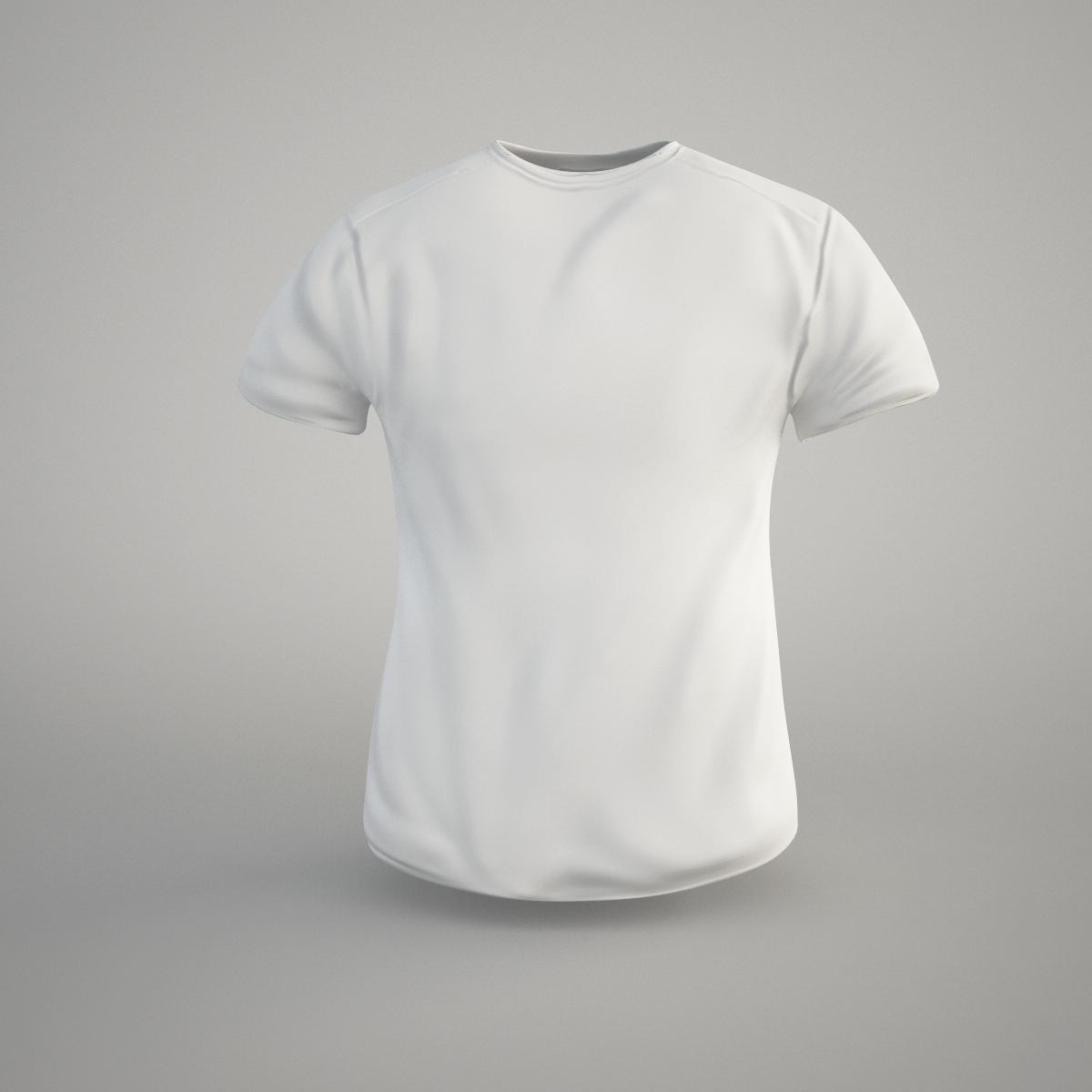T Shirt 3d Model Game Ready Obj Fbx C4d Cgtrader Com