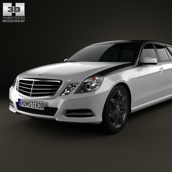 Mercedes benz e class binz xtend 2012 3d model max obj 3ds for Mercedes benz 2012 models