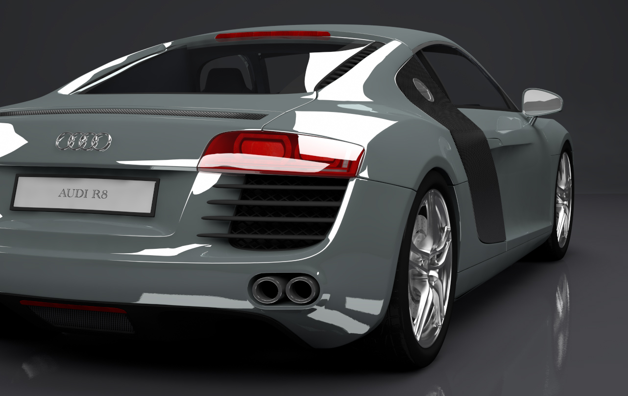 audi r8 custom version 3d models. Black Bedroom Furniture Sets. Home Design Ideas