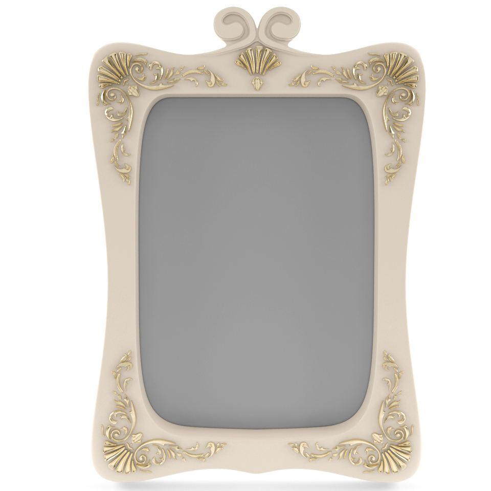 Classic mirror 3d model max for Mirror 3d model