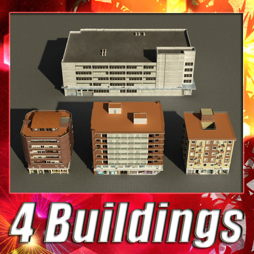 Building Collection 1-43D model