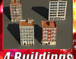 Building Collection 9-12 3D Model