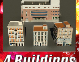 Building Collection 13-16 3D Model
