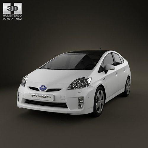 Best Tires For Toyota Prius: 3D Toyota Prius 2010