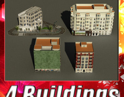 Building Collection 25-28 3D Model