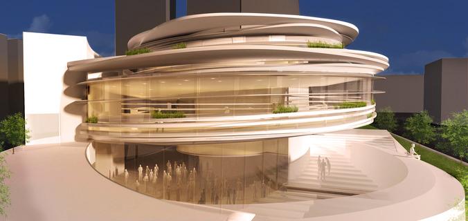Serra building 3d model max for Exterior 3d model