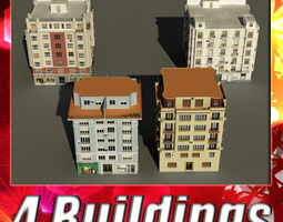 Building Collection 33-36 3D Model