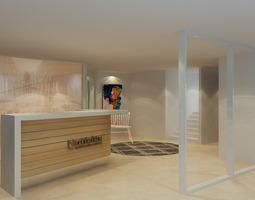 3D model recepition interior