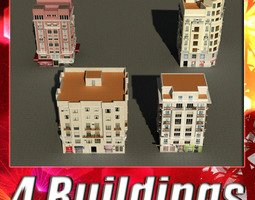 Building Collection 37-40 3D model