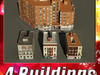 Building Collection 53-56 3D Model