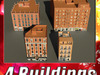 Building Collection 61-64 3D Model