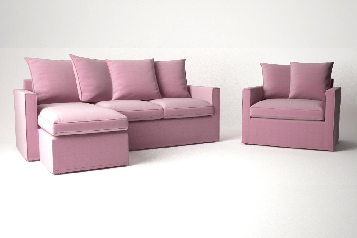 Divani Ikea Harnosand : Ikea harnosand sofa furniture couch d models