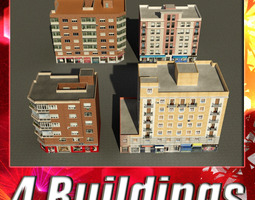 Building Collection 73-76 3D Model