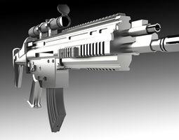 3D asset MSBS weapon model
