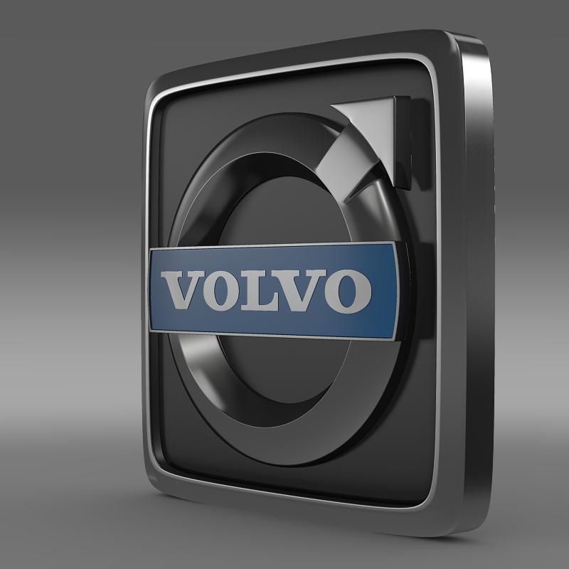 Volvo truck logo 3D Model MAX 3DS FBX C4D LWO LW LWS MA MB ...