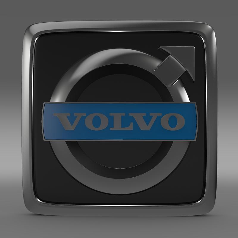 Volvo Truck Logo D Model Ds Fbx C D Lwo Lw Lws Ma Mb Hrc Xsi Max Mtl Cf Aef Bedf A Bd D C Cde A A