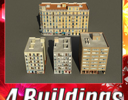 Building Collection 89-92 3D Model