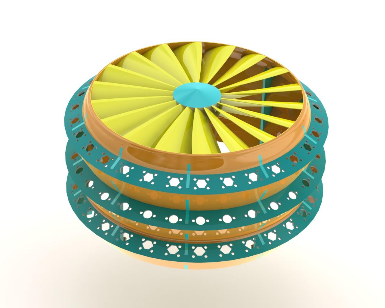 Spinning Light Filter